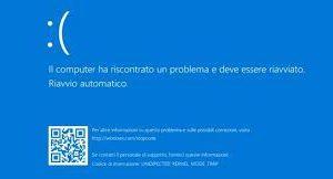 Windows 10: Blue Screen Of Death